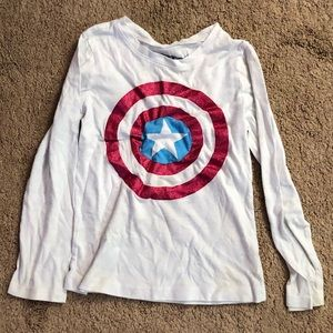Marvel Captain America size Small (5-6) shirt